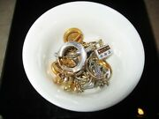 Scrap 14k White And Yellow Gold 43 Grams