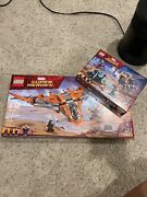 Lego 76107 And 76102 Marvel Super Heroes Thanos Ultimate Battle Already Built