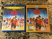 Wreck-it Ralph Ultimate Collector's Edition Blu Ray 3d/2d/dvd 3 -disc W Slip