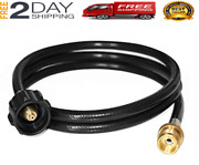 4ft Propane Adapter Hose To1lb Propane Hook Up To 20lb Tank For Weber Q 1200
