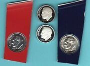 2020 P D S S Roosevelt Dime 4 Coin Set From Mint And Proof Sets