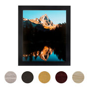 Arttoframes 24 X 34 Modern Custom Picture Poster Frame 1.25 Wide A46rm