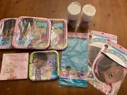 Doc Mcstuffins Birthday Party Supplies Plates Cups Napkins Banners Table Cover