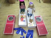 American Girl Julie And Ivy Lot Accessories Original Boxes Clothing Book Clean