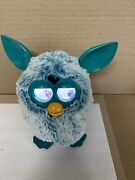 Furby 2013 Teal And White Fur Has Teal Ears
