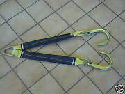 8j V-bridle 2ft F Towing Wrecker Axle Straps Rollback Sling Tie Down