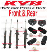 Kyb Excel-g Shocks/struts ,dust Boots,front Mounts Front And Rear Lexus Is300