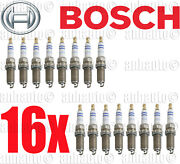Set Of 16 Bosch Oe Fine Wire Double Platinum Spark Plugand039s For Mercedes
