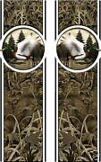 Truck Bed Decal - Camo Duck Hunting- Striping Graphics Vinyl Sticker
