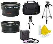 7pc Lens Filter Accessory Kit For Fuji Finepix S9600 S9500 S9100 S9000 S6000fd