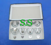 10 Dental Impression Trays Perforatted Endo 40 Set New