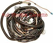1982 Corvette Wiring Harness Rear Body With Rear Window Defrost Exc Coll Ed C3