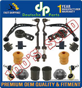 Control Arm Ball Joint Motor Strut Mounts Sway Bar Link Kit For Bmw E30 325i E