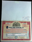 Chiquita Brands Int'l Inc. Prod. File Model Proofs And Annual Report 1989 Pahv120