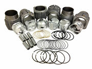 Porsche 911 Low Compression 86mm Je Piston And Biral Cylinder Kit 2.2 And 2.4