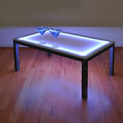 22 Lighted Bar Coffee Table Modern Color Changing