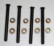 65-67 Ford Mustang Repair Hinge Kit With 4 Pins And 8 Brass Bushings Fortwo Doors