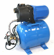1.6 Hp 1200w Shallow Well Garden Pump 1000gph W/booster System And Pressure Tank