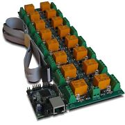 Snmp Web 16 Channel Relay Output Module Board - Ip Remote Controller