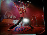The Scorpions Autograph Rudolph Schenker Signed 8x10 Photo Proof B