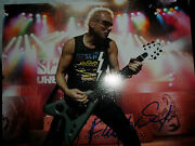 The Scorpions Autograph Rudolph Schenker Signed