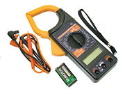 1000 Amp Clamp-on Multimeter Ac/dc, Volts, Amps And Ohms