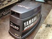Early 90s Yamaha Pro 50 Hp 2 Stroke Hood Top Cowl Cowling Freshwater Mn