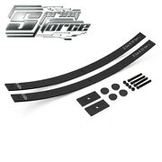 For 07-20 Toyota Tundra 2 Lift Long Helper Springs Add-a-leaf Kit 2wd 4wd Shims