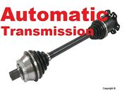 Audi Allroad With Automatic Transmission Front Left Cv Axle Lifetime Warranty
