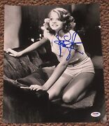 Jodie Foster Signed 11x14 Photo Taxi Driver Silence Of The Lambs Psa/dna V72639