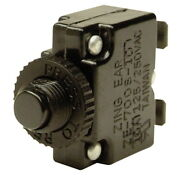 5 Amp Panel Mount Push Button Circuit Breaker For Boats - Push To Reset Design