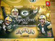 Green Bay Packers Superbowl Xxxi 10th Anniversary Pin Collection Album -w/o Pins