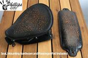 2007-2009 Rich Phillips Leather Motorcycle Seat Pinup Mounting Kit Passenger Pad