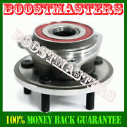 Front Wheel Bearing And Hub Assembly For Full Cast Rotors 99-01 Jeep Cherokee New