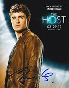 Max Irons Signed 8x10 Photo Authentic Autograph The Hot Video Proof Coa A