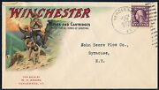 Winchester Rifles And Cartridges Multi-color Advertising Cover Used Hv4730
