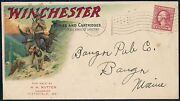 Winchester Rifles And Cartridges Multi-color Advertising Cover Used Hv4731