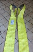Recovery Strap Usa Tow 8 Double Ply 16ft. Sling Axle Lifting Crane Wrecker
