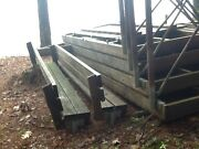 24and039 U-shaped Wooden Boat Dock W/2-- 6and039 Benches Located Bridgtonme