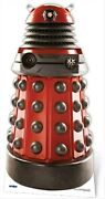Dalek Drone Red Doctor Who Official Lifesize Cardboard Cutout Fun Figure