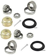 2-leftandright Oem Fag Rear Wheel Bearing Kit For With Drum Brakes ,without Abs