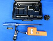Delmhorst F6/30 Analog Hay Forage Moisture Meter Tester Deluxe 1 Year Warranty