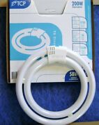 Tcp 32058 58w 2700k 9 T6 Double Circle Fluorescent Light Bulb 200w Equal Lamp