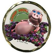 The Chip Hog Poker Spinner Card Guard Chips Card Protector W/case New