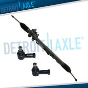 Power Steering Rack And Pinion + Outer Tie Rods For Dodge Avenger Eagle Talon