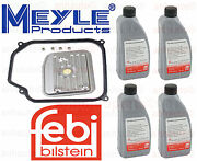 4-liters Auto Transmission Fluid And Filter Kit Beetle Cabrio Golf Jetta G052162a