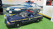 Ford Mustang Special Service 1988 State Police O 1/18 Gmp 9066 Voiture Miniature