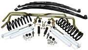 1968-74 Chevy Ii Nova Typical Stage 2 Suspension Kits Front Coils And Rear Leafs