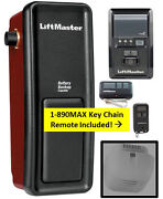 8500 Liftmaster W-890max Mini Remote And 893max 1-each Wall Mount Garage Opener