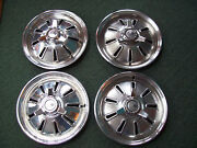 1964 Corvette Hubcap Set Nice Original Set. 365 327 Coupeconverible Sting Ray